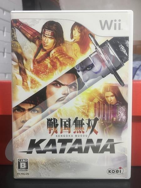 日版 Wii 戰國無雙 KATANA