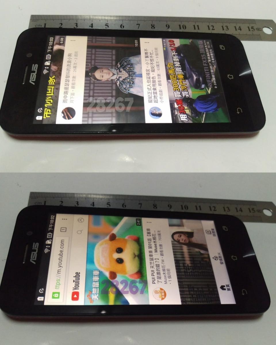 ASUS手機,華碩手機,二手手機,中古手機,手機空機~ASUS華碩手機(4.5吋安卓作業系統6.0.1支援4G功能正常,可更換背蓋)