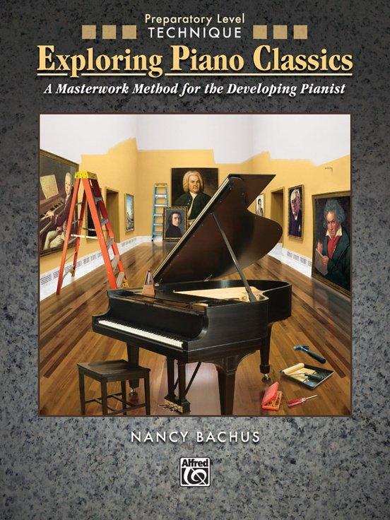 【599免運費】Exploring Piano Classics Technique,Preparatory Level