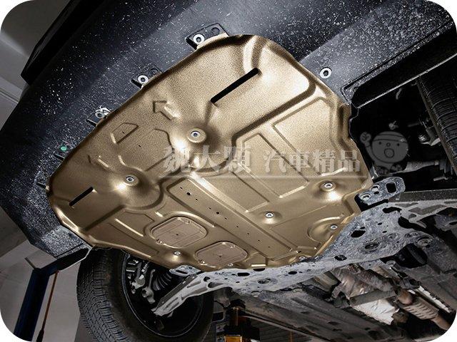 【魏大顆 汽車精品】Focus 5D/4D(19-)專用 全包覆引擎下護板 鈦鎂鋁合金ー底盤下護板 引擎護板 Mk4