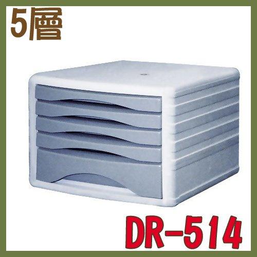 【OL辦公用品】五層收納櫃 多 效率櫃 DR-514