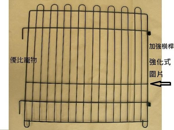【優比寵物】2尺*2尺金屬靜電粉體烤漆強化 式圍片 圍欄( )   中--