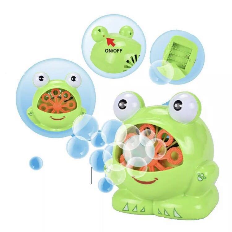 《鈺宅舖》泡泡槍 泡泡機 泡泡水 自動泡泡機 青蛙泡泡機 婚禮泡泡 電動泡泡機 兒童 玩具 公園玩具 戶外 露營
