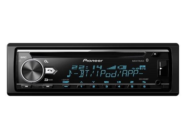 先鋒 Pioneer DEH-X7850BT  CD/MP3/WMA/USB/iPhone 藍芽主機支援安卓混音公司貨
