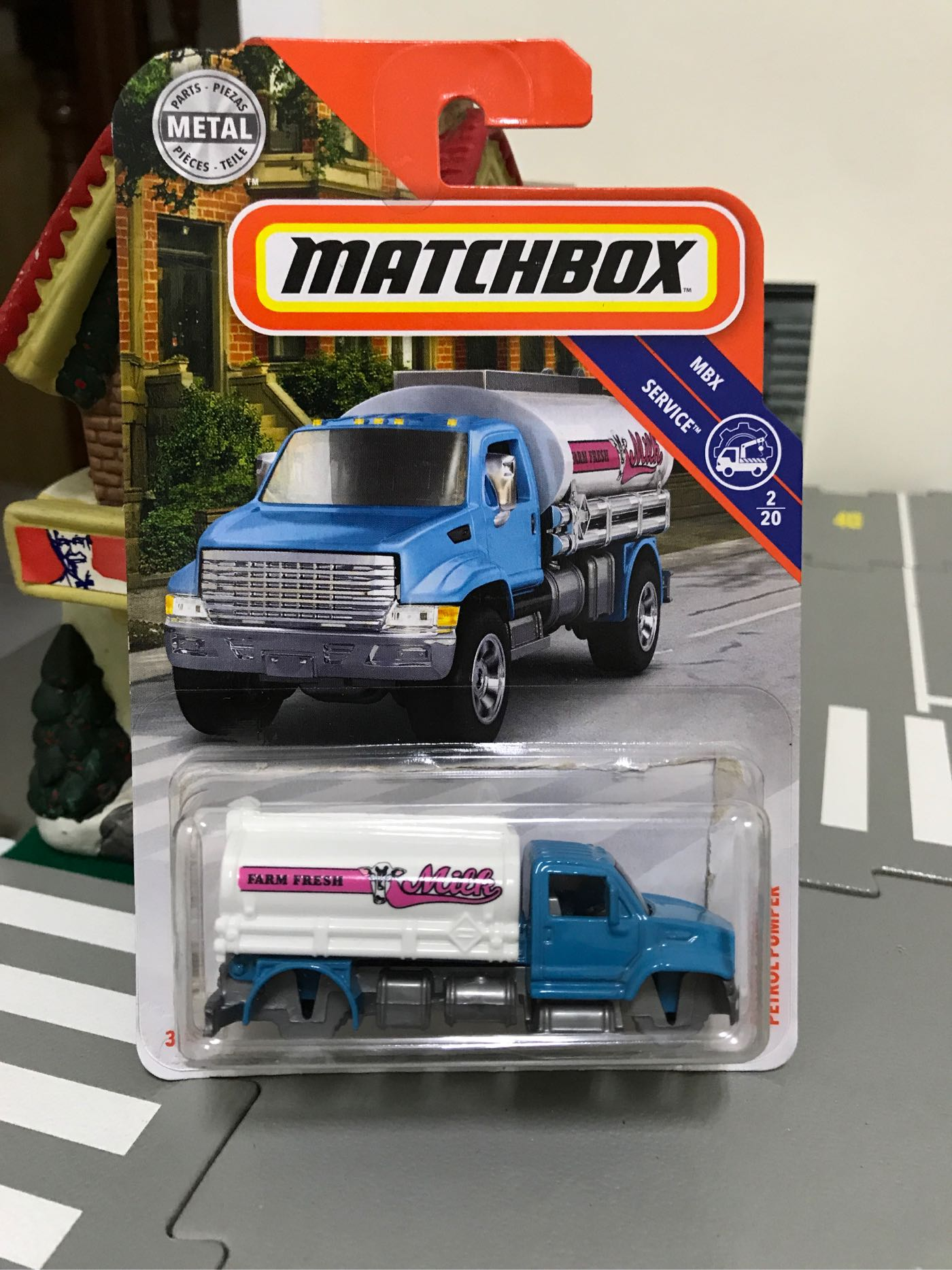 MATCHBOX PETROL PUMPER 零件車