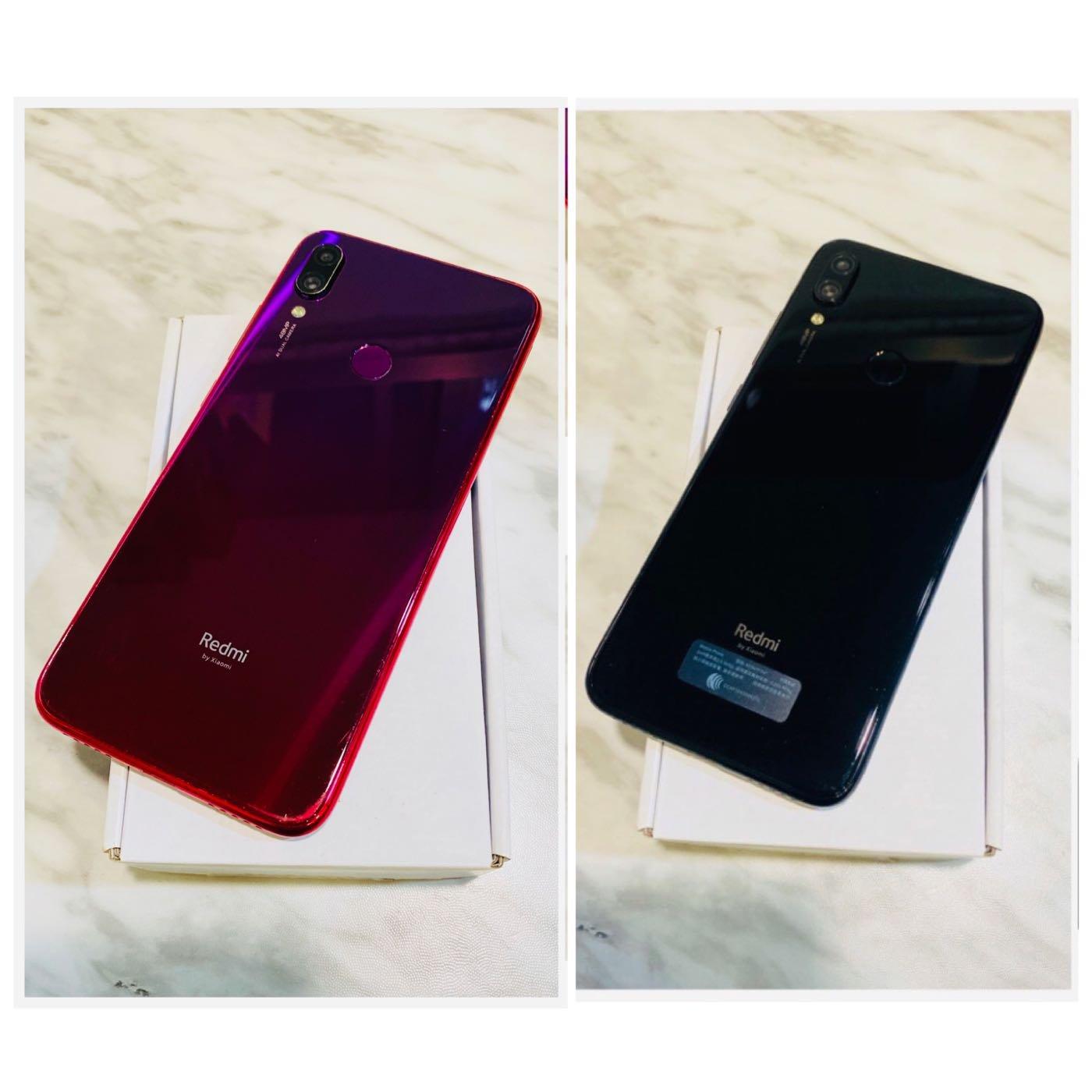 ?二手機 Xiaomi紅米 Note7 (128G 雙卡雙待 6.3吋 2019/04出廠)