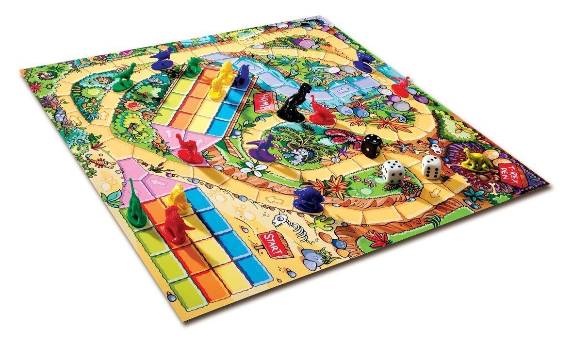 桌遊 恐龍 Dinosaur 桌上遊戲 益智遊戲 暴龍 霸王龍 三角龍 劍龍 玩具 模型 ~ 玻璃珠遊戲屋