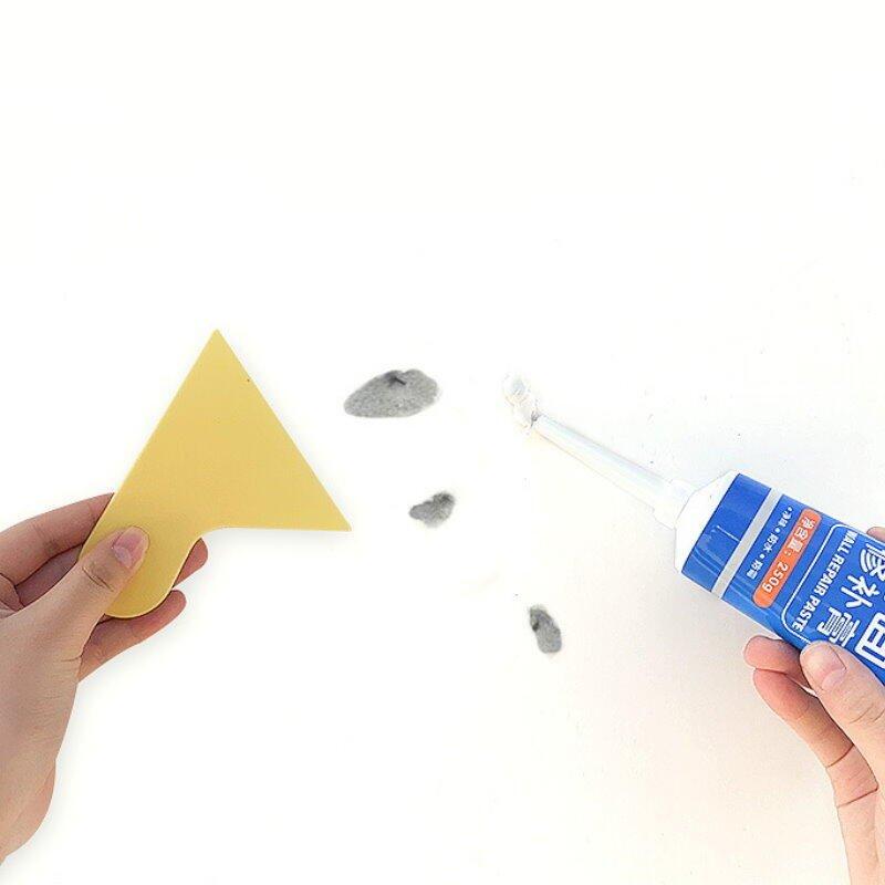 牆面修補膏-白色 釘眼裂縫修復 填縫劑 翻修膏 補牆膏【DG374】 123便利屋