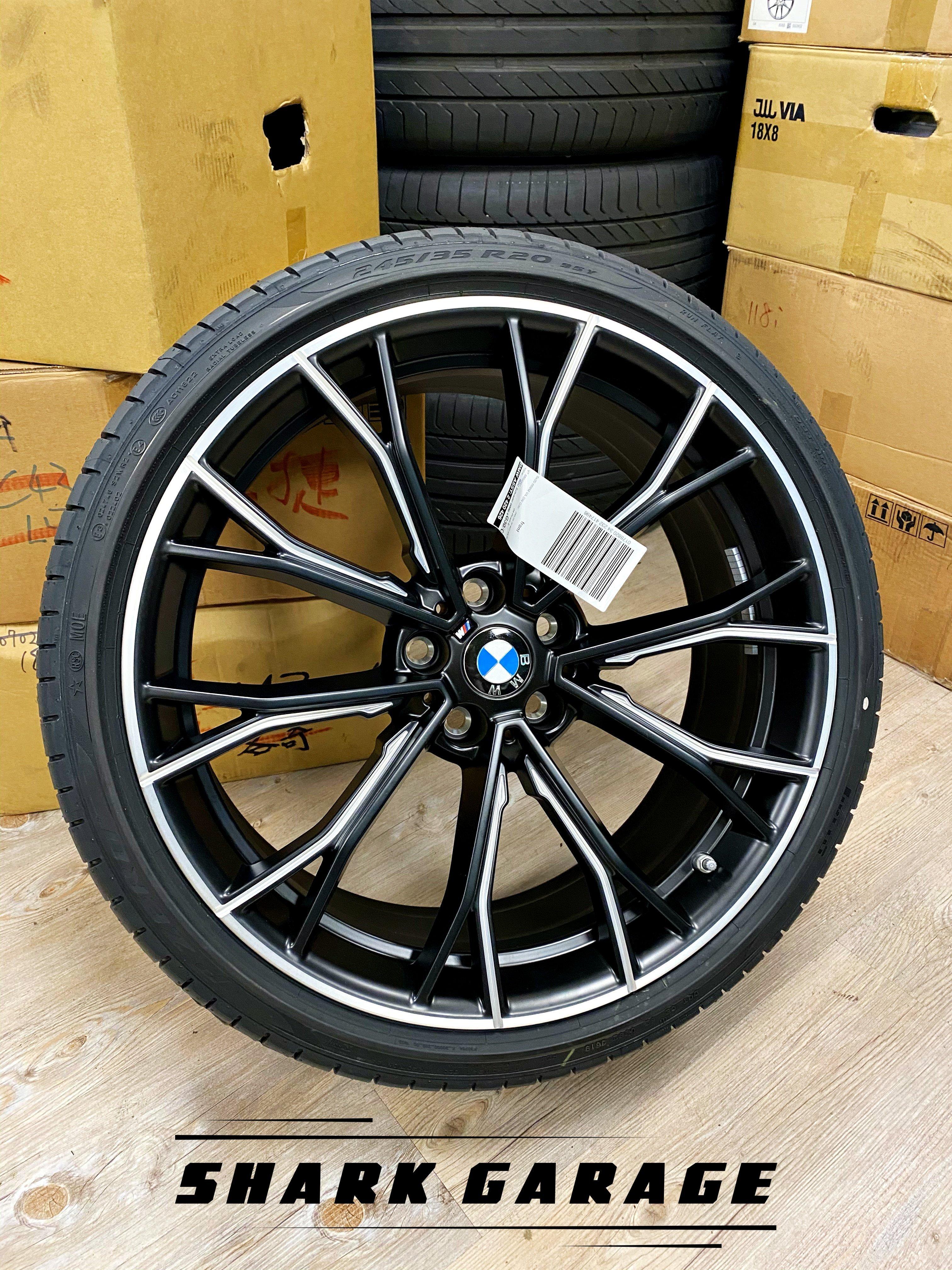 #現貨#✽顯閣商行✽BMW德國原廠 G30/G31 M Performance 669M 20吋 鍛造鋁圈含胎 輪圈配胎