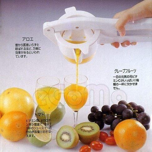 【eGoMo】廚房好幫手--日式百果省力塑鋼壓汁機(榨汁機)
