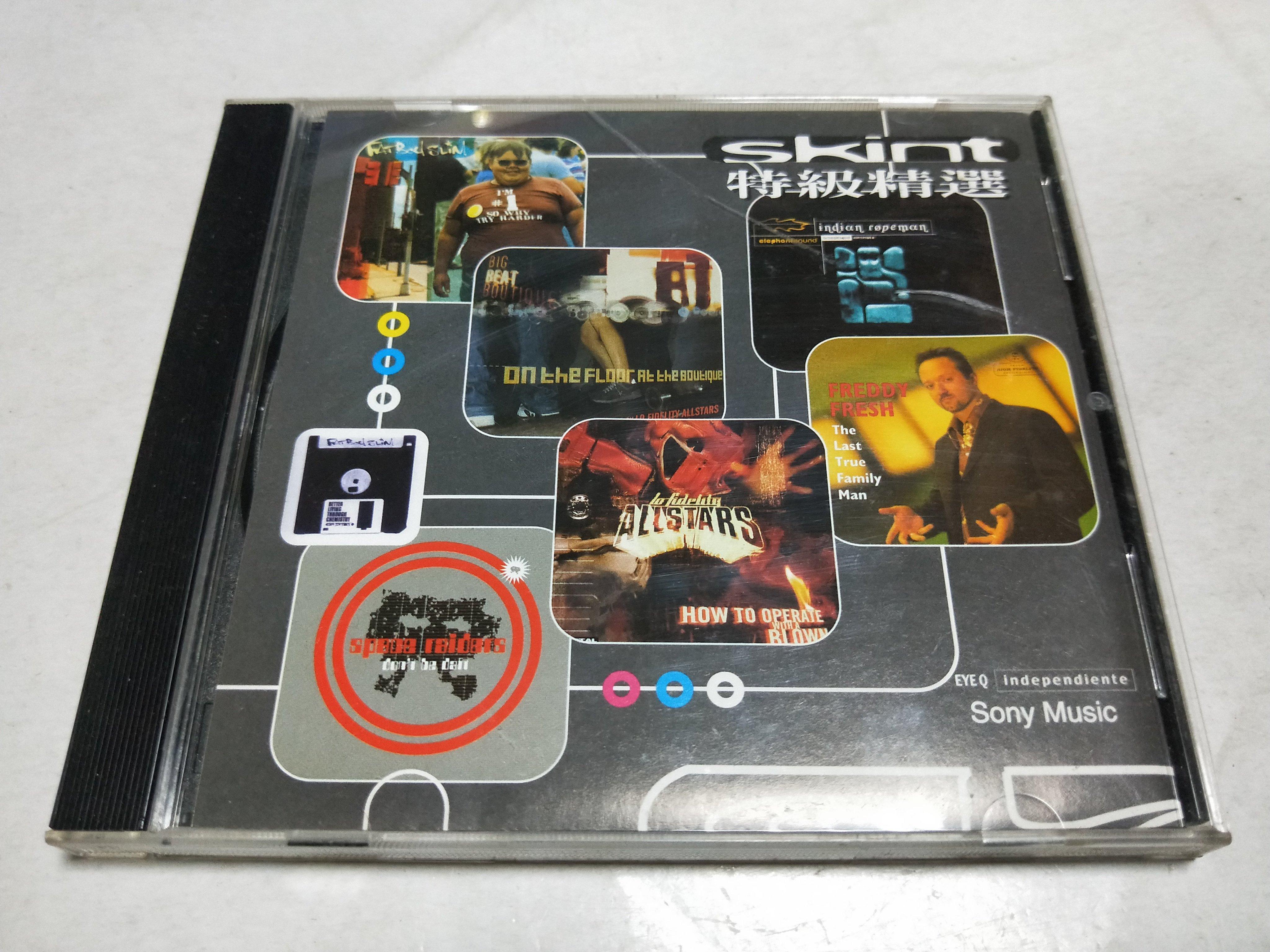 昀嫣音樂(CD134) skint 特級精選 sony music 保存如圖 售出不退