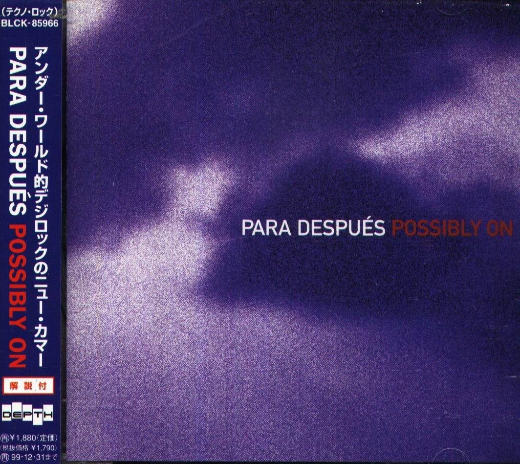 K - Para Despues - Possibly on - 日版 OBI