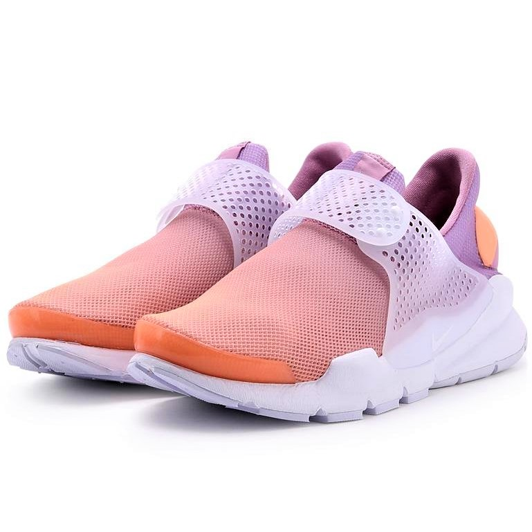 【AYW】NIKE WMNS SOCK DART BR 粉橘 襪套 網布 懶人鞋 休閒鞋 慢跑鞋 跑步鞋 運動鞋 us8