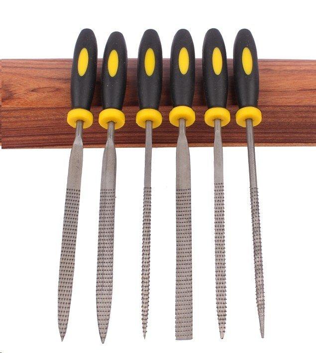 6件套 迷你 木工 銼刀 套裝 硬木銼 雕刻 打磨 小銼刀