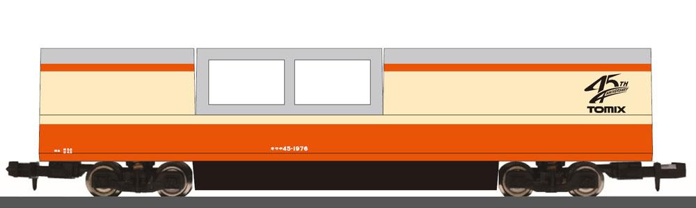 [玩具共和國] TOMIX 6499 特別企画品 マルチレールクリーニングカー(トミックス45周年記念カラー)