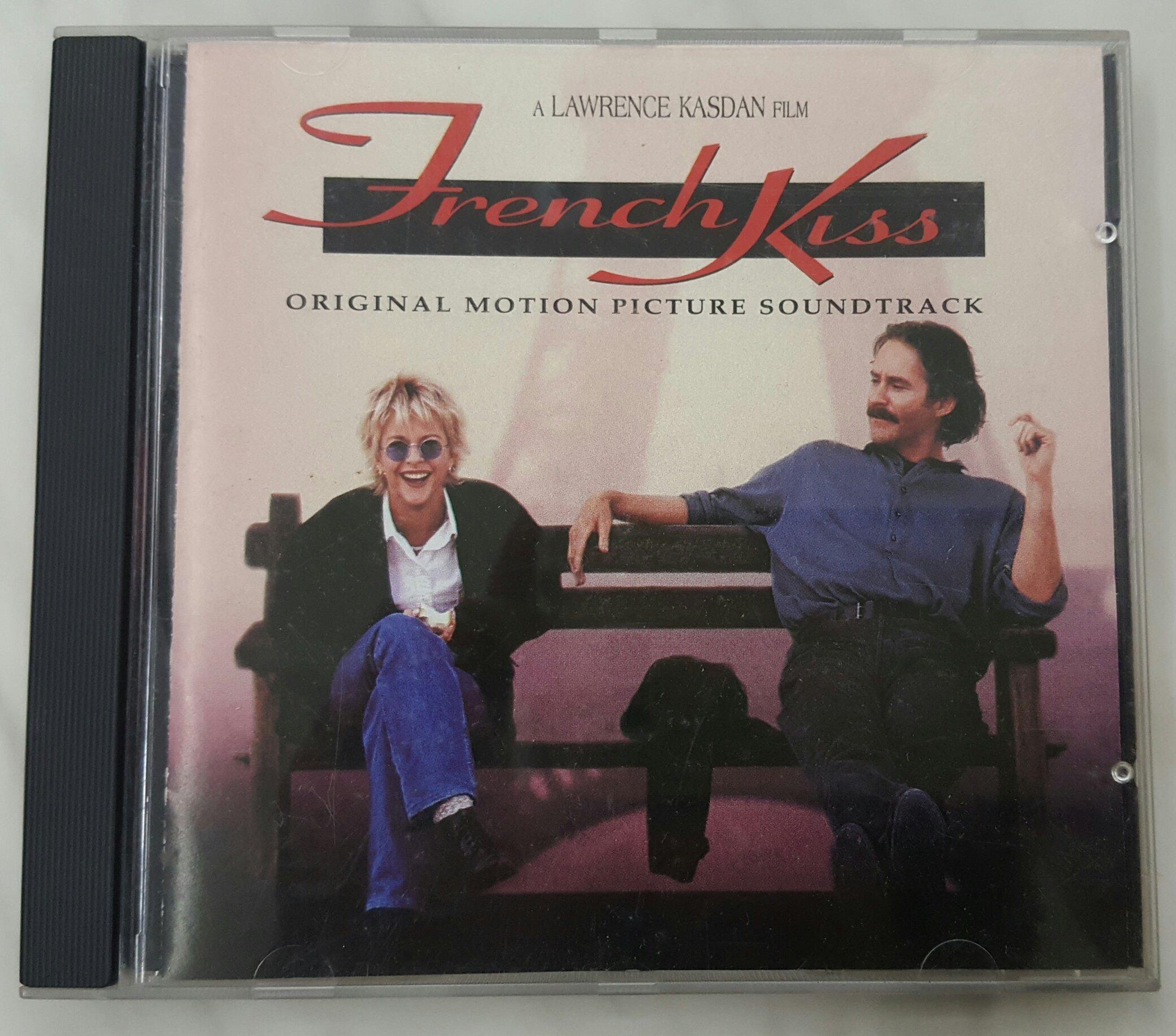 {夏荷美學生活小舖}二手CD French kiss 情定巴黎 原聲帶 1995年發行