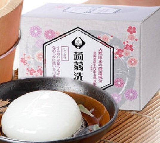 【美島水肌】日本大阪限定蒟蒻皂(乳清/清酒)