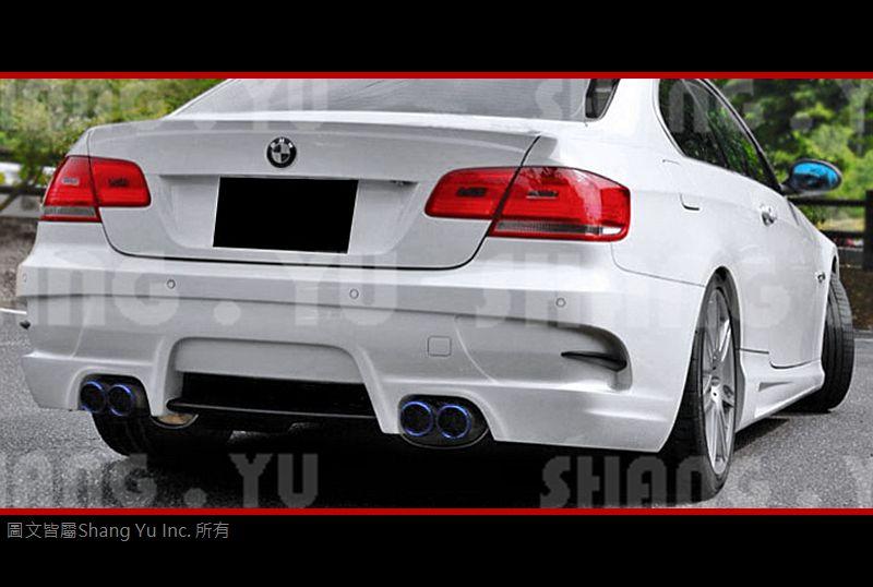 BMW E92 E93 COUPE 2D 後保桿 後大包 空力套件