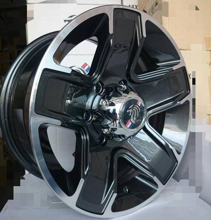 【優質輪胎】16吋_8J 6孔139.7 全新鋁圈一組(QX4 PAJERO SG 得利卡 陸地龍 海力士 可用)三重區
