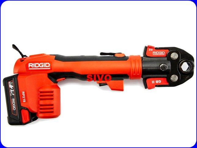 ☆SIVO電子商城☆美國里奇 RIDGID RP218充電式壓接槍 1/2~1壓接管 壓接機 牧田通用電
