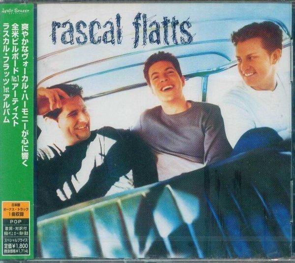 (甲上唱片) Rascal Flatts - Rascal Flatts - 日盤 + 1BONUS