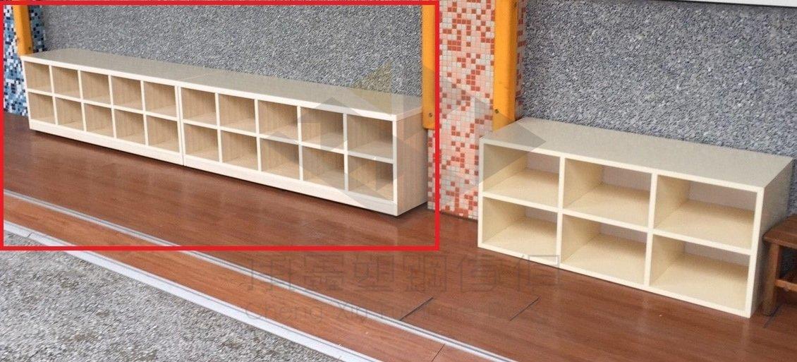 【承鑫家具】南亞塑鋼系列 尺寸皆可手工訂製 來電0422229000 10格坐式鞋櫃 兒童鞋櫃 多人鞋櫃 幼兒鞋櫃 坐鞋