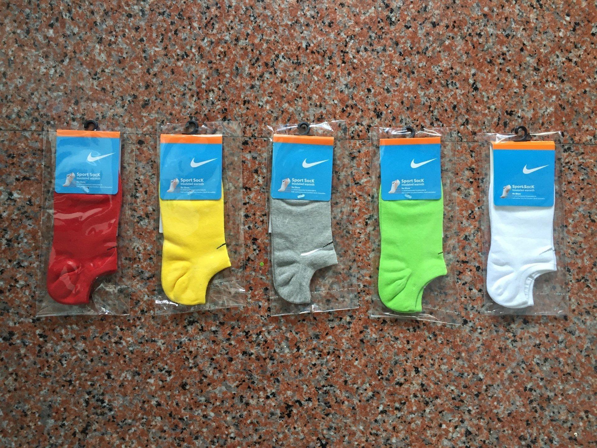 Nike襪 【素面款  春 薄款船襪 】【M號】【五色可選】【買10送1】【 】