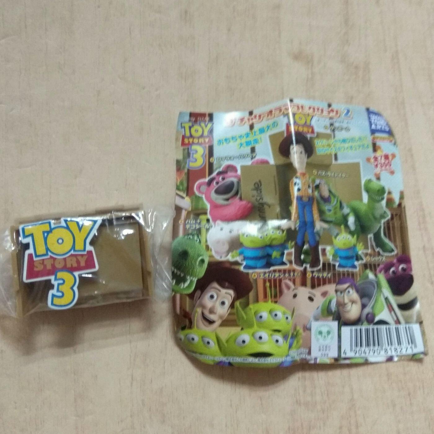 迪士尼 玩具總動員 紙箱 公仔 扭蛋 玩具