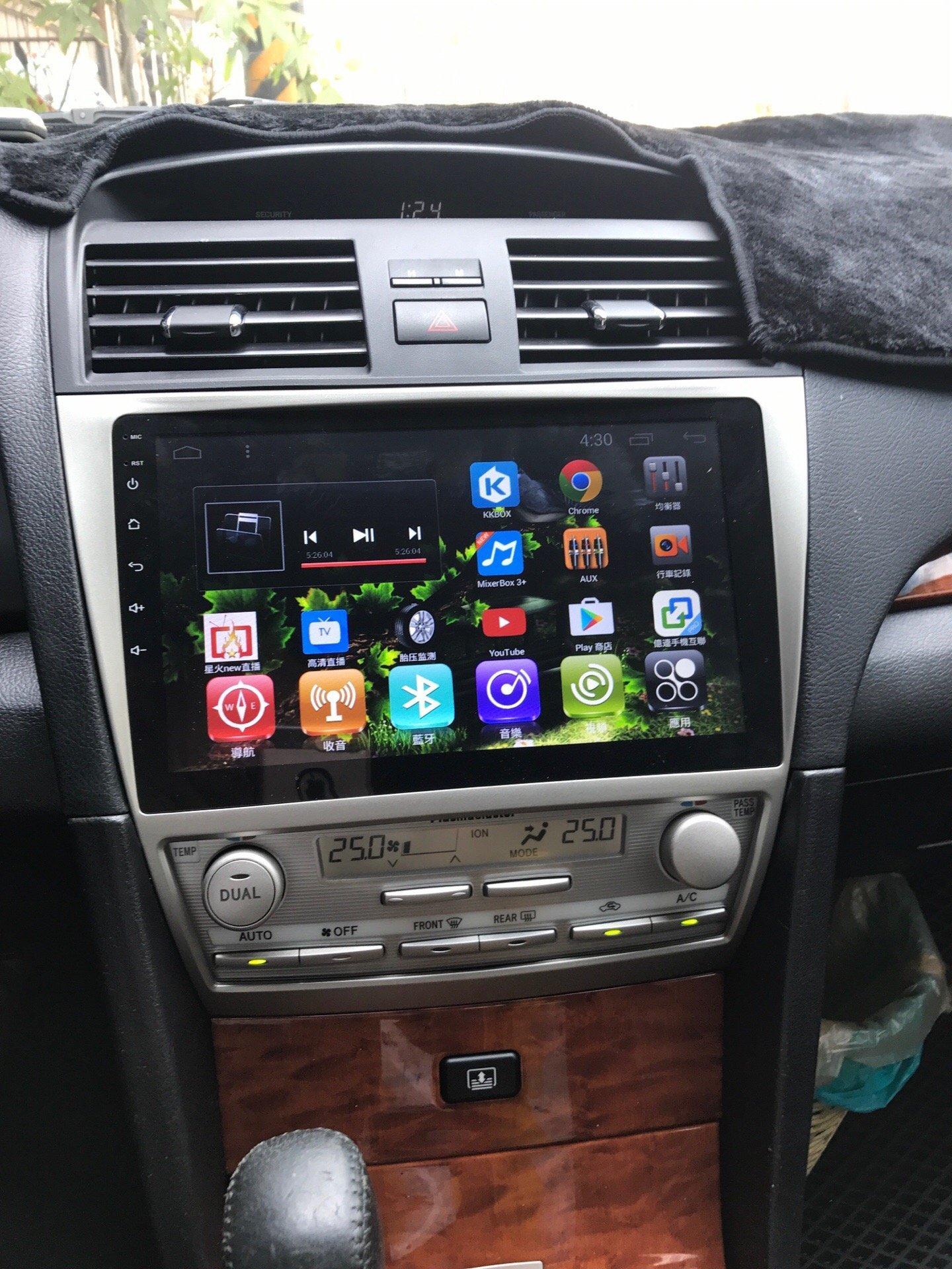 【嘉義.新動力汽車音響】TOYOTA CAMRY專用10.2 吋安卓機