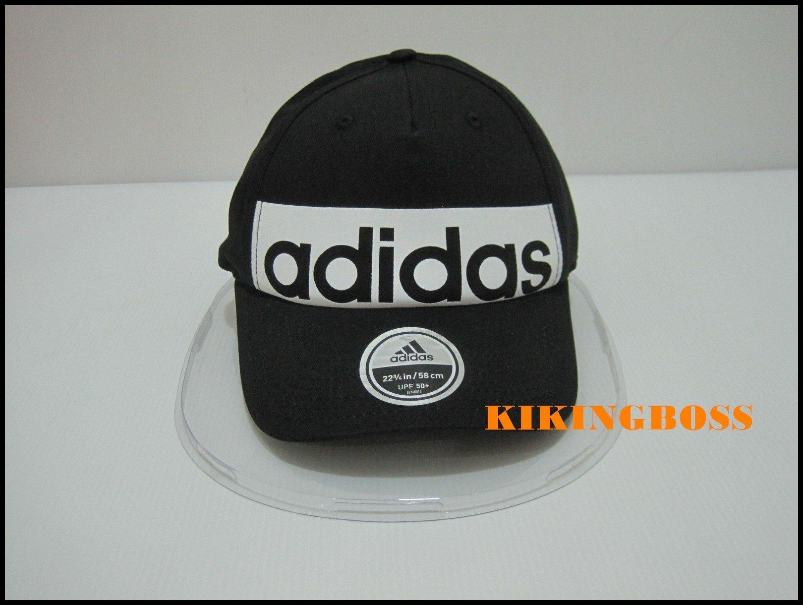 【喬治城】ADIDAS 5PCL CAP LINEAR 老帽 棒球帽 網球帽 男 女 黑色 S98157