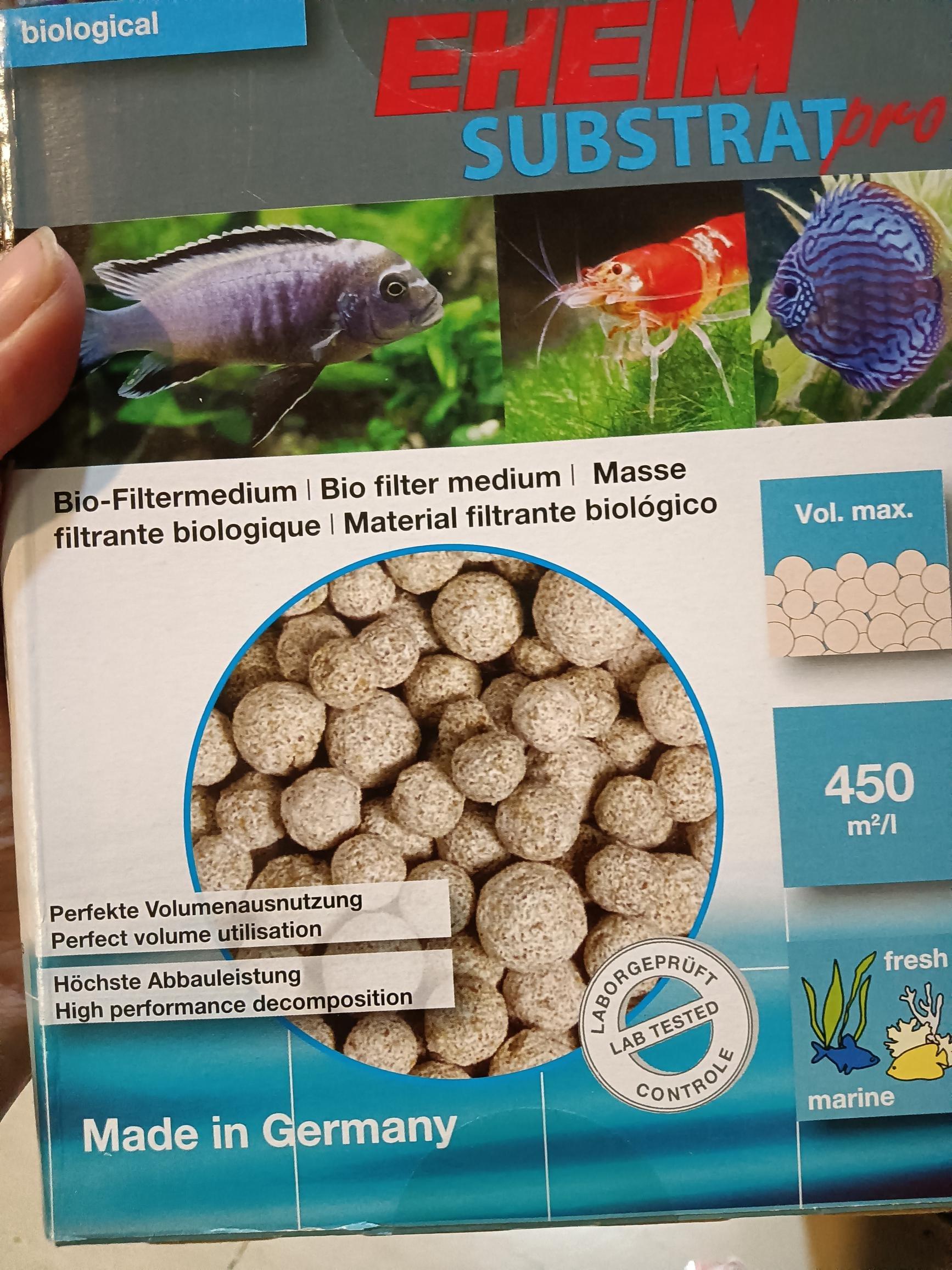 現貨 德國 EHEIM 伊罕 石英球 1L 陶瓷環 原廠包裝 過濾 培菌