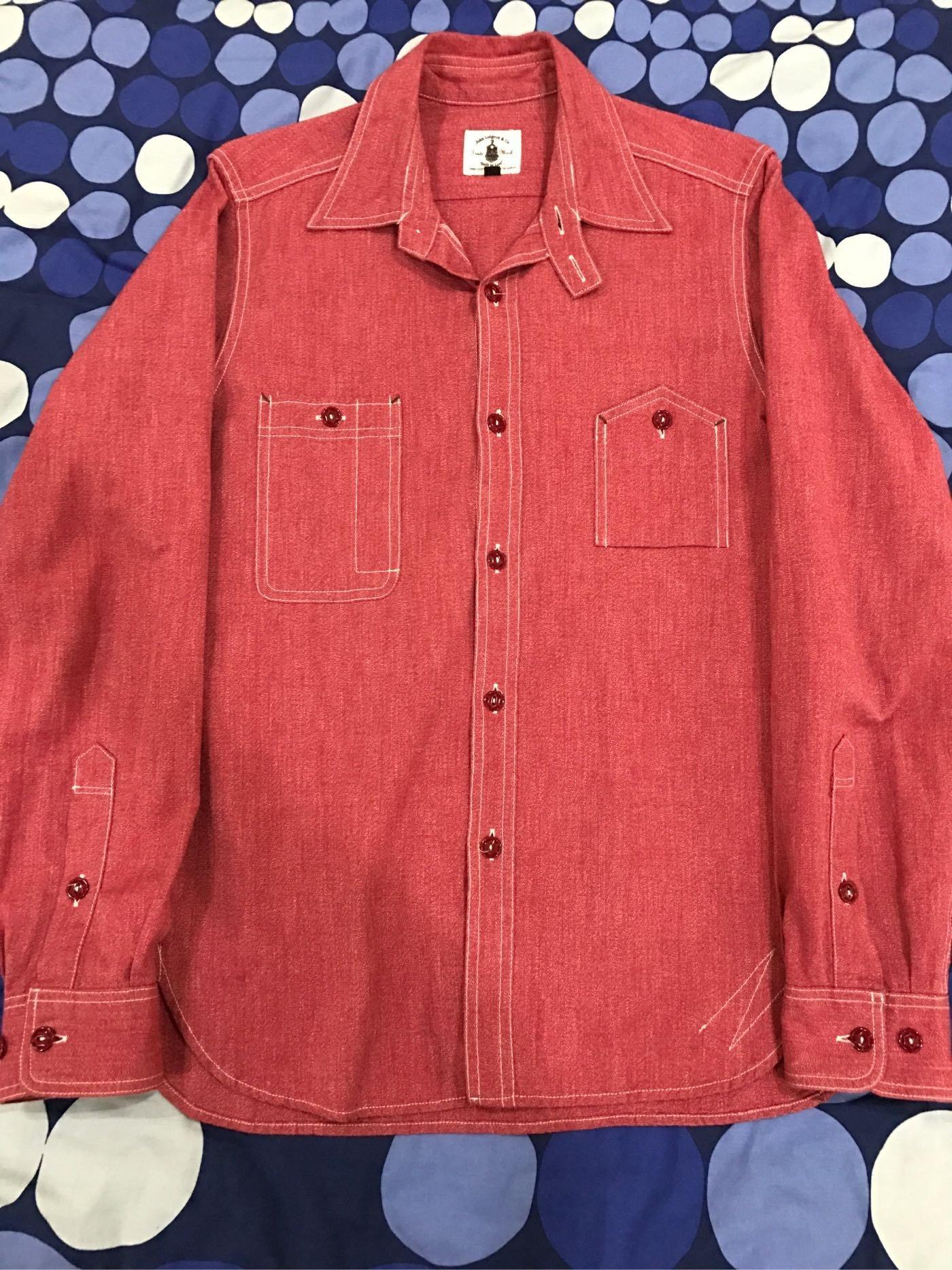 John lofgren work shirt sizeM (real McCoy mister freedom)