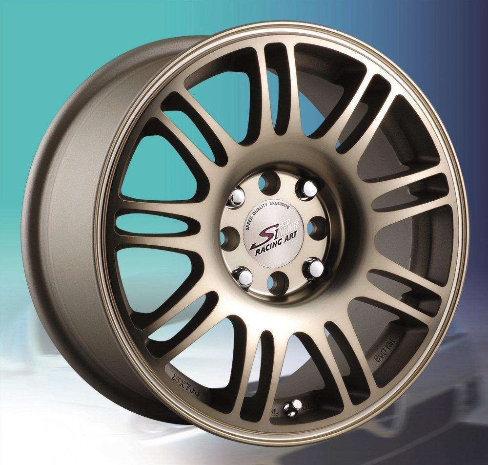 全新鋁圈 S802 15吋鋁圈 4孔100 4孔114.3 陽極金