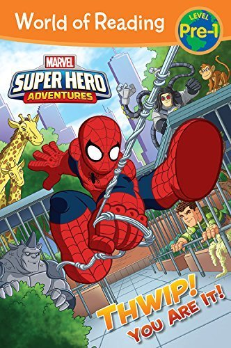 *小貝比的家*SUPER HERO ADVENTURES THWIP YOU ARE IT WORLD OF READ