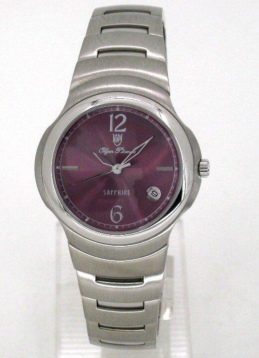 【 幸福媽咪 】 OP 奧林比亞 公司貨 日本星辰機芯 水晶不刮傷鏡面 石英女錶 AM019