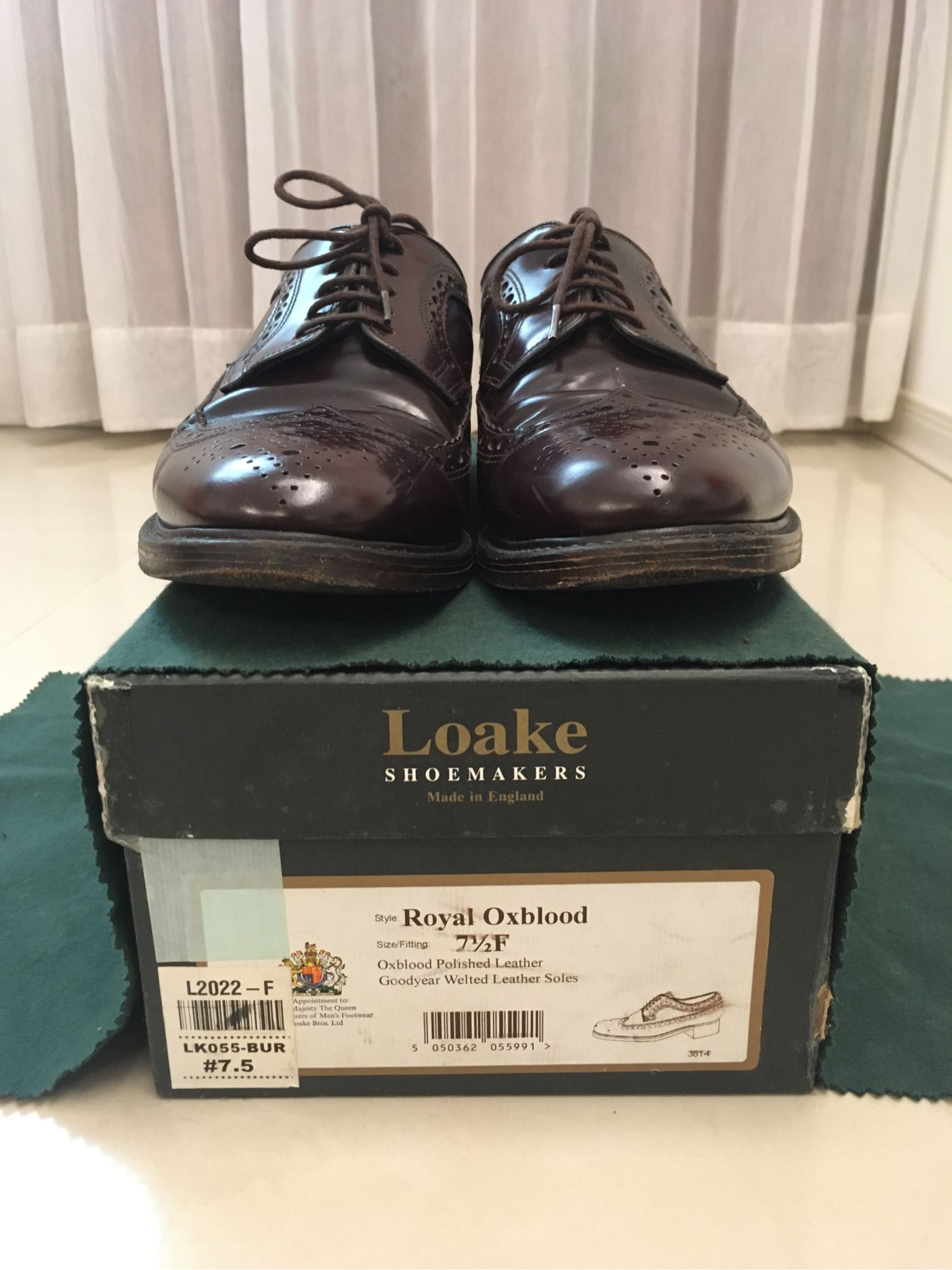 Loake Royal Oxblood