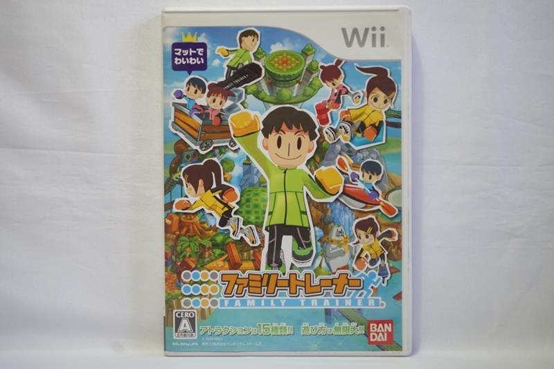 日版 Wii 家庭訓練機