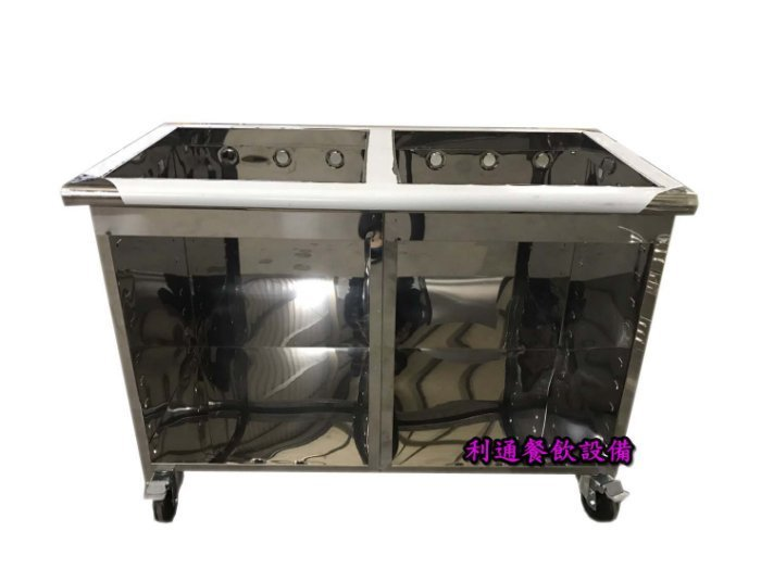 《利通餐飲設備》關東煮專用湯台 關東煮攤車 有輪子可推