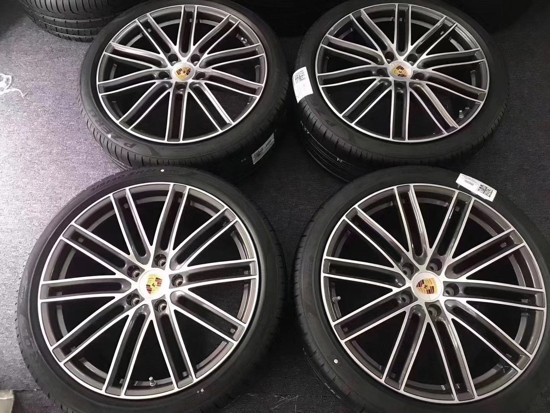 【B&M 精品】保時捷 德國原廠 21 吋 鋁圈輪胎組 Porsche panamera 帕拉梅拉   另售保時捷所有車款鋁圈皆有