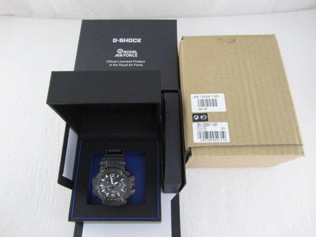 G-SHOCK GPW-1000RAF-1A ROYAL AIR FORCE官方聯名錶款*只要16000元(DF128)