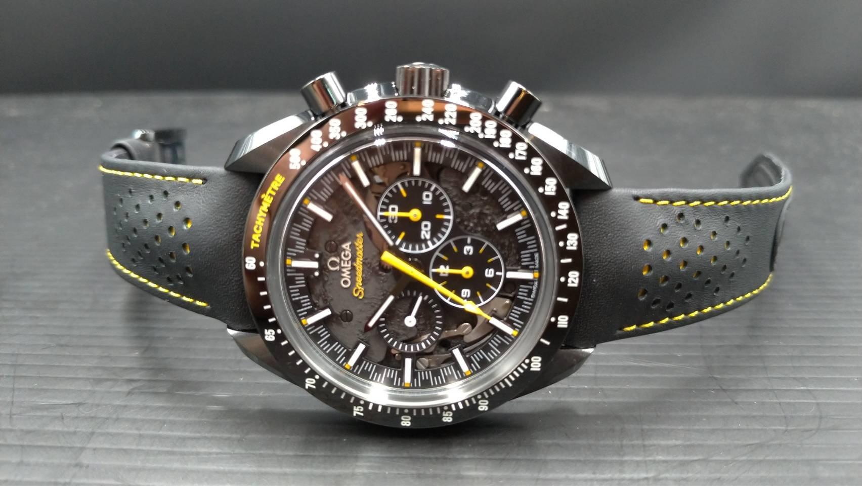 OMEGA 歐米茄 登月錶 超霸系列.太陽神阿波羅8號月之暗面.44.25毫米大師天文台計時腕錶 Zro2陶瓷錶殼.專賣