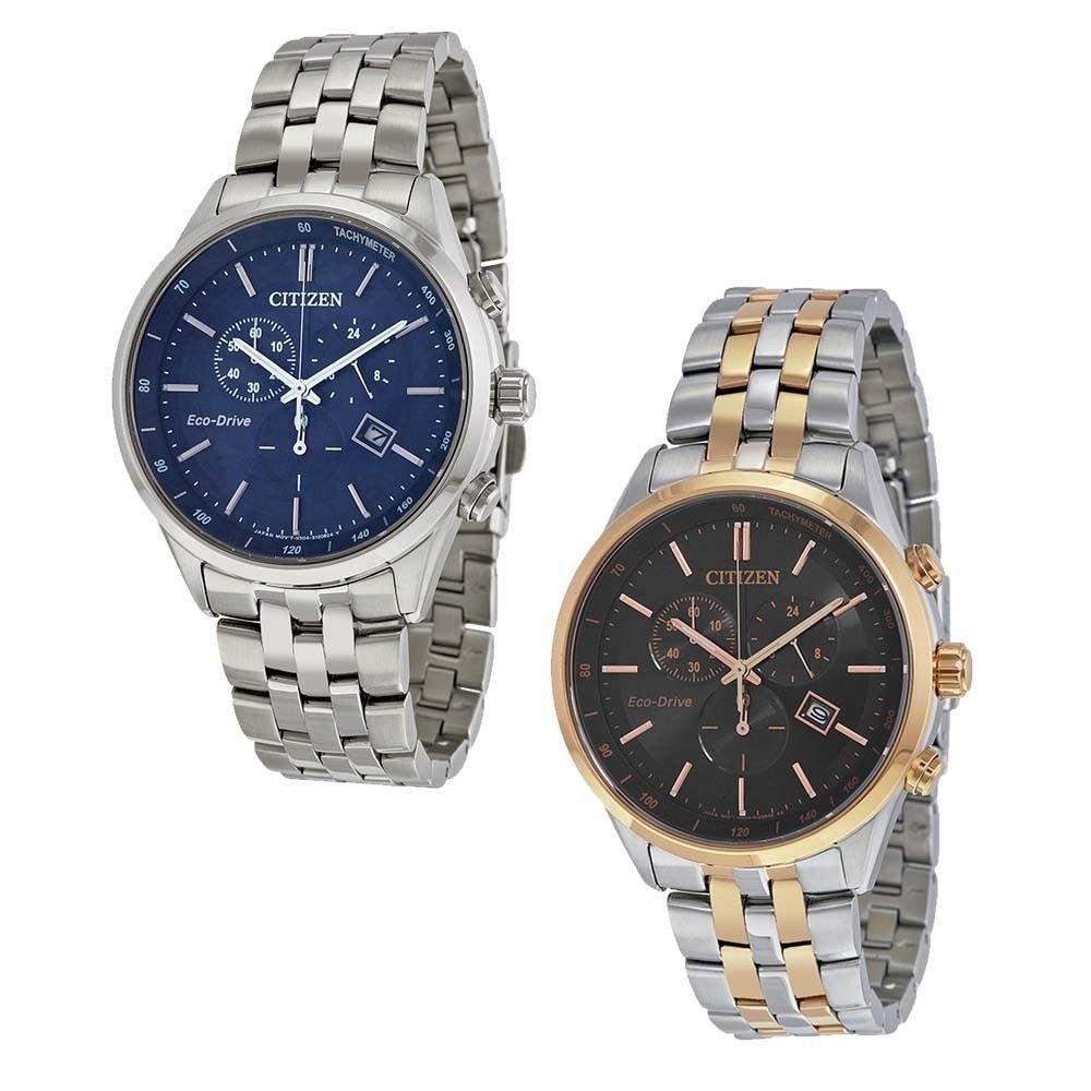 【換日線】男錶 Citizen Sapphire Collection Eco-drivel Mens Watch - Choose color