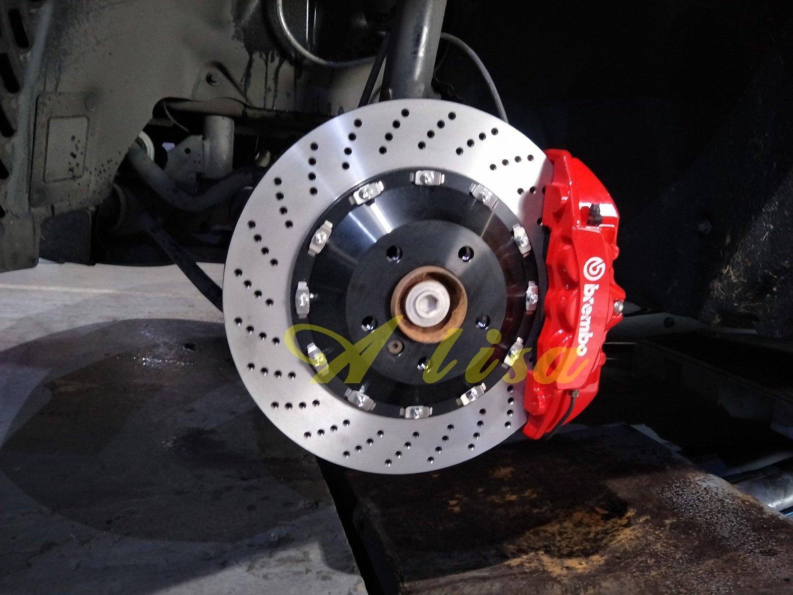 邦德堡國際-VW GOLF BEETLE PASSAT Tiguan專用 前大六活塞 雙片式浮動碟盤 可另購後加大碟盤