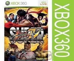 【強強二手商品】XBOX360 超級快打旋風4 Super Street Fighter IV