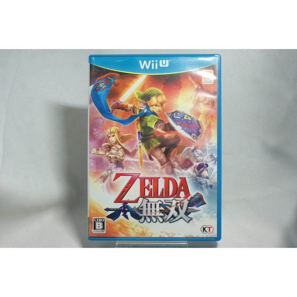 [耀西]二手 純日版 任天堂 Wii U WiiU 薩爾達無雙 含稅附發票