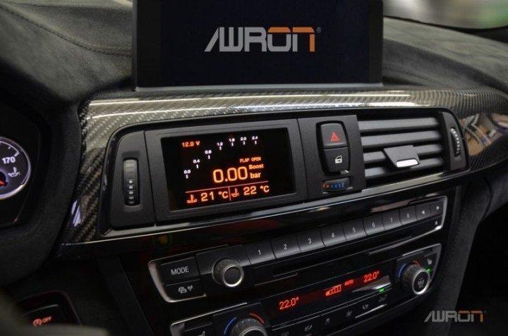 =1號倉庫= AWRON 多功能數位錶 BMW 3系列 E46 330i 機械增壓專用
