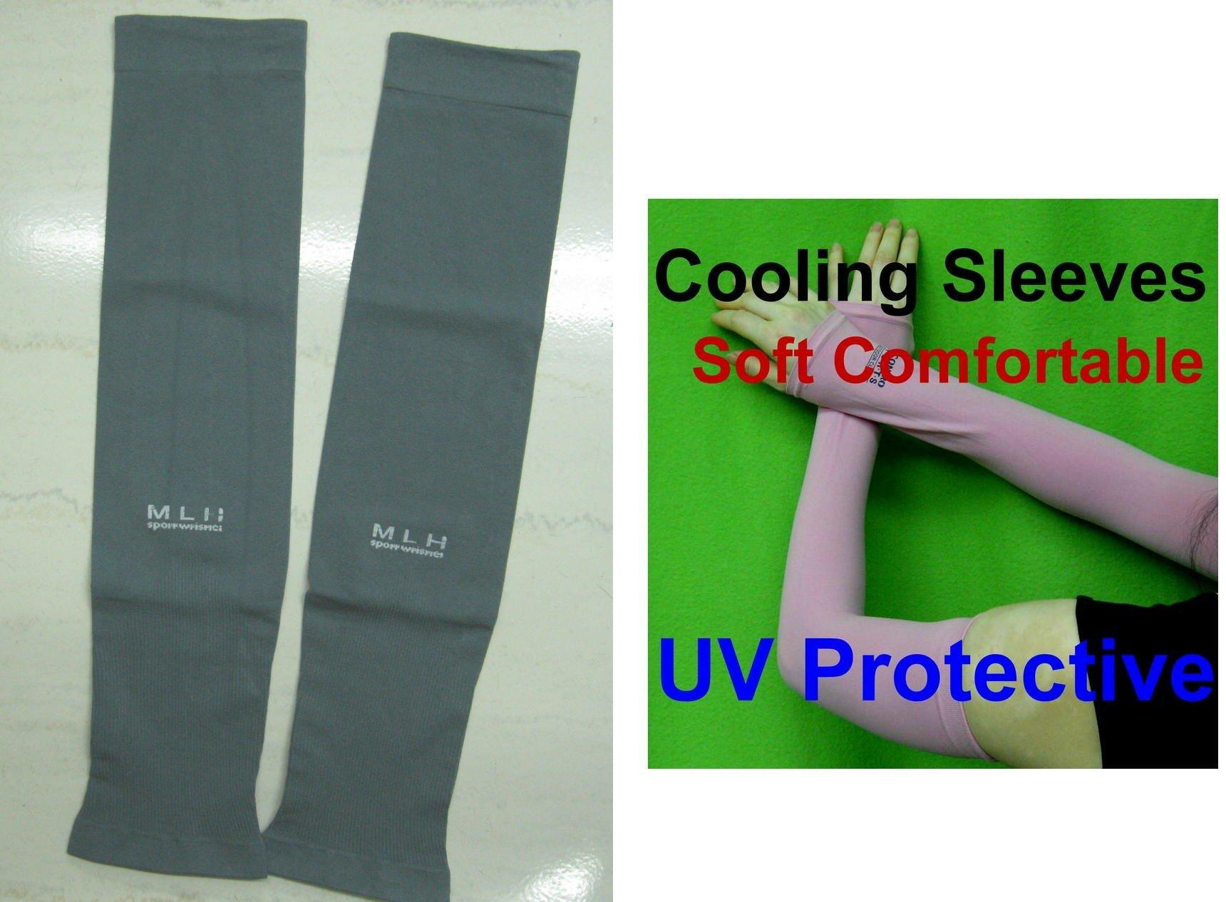 **AdmCity** 灰色涼感袖套 男女 防曬袖套抗UV 紫外線防護 袖套 防曬手套 Y336glove02 現