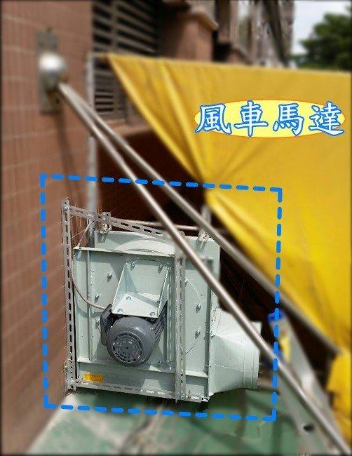 ~~東鑫餐飲設備~~專業安裝 風車馬達 / 抽油煙設備 / 馬達設備 / 靜電機抽風