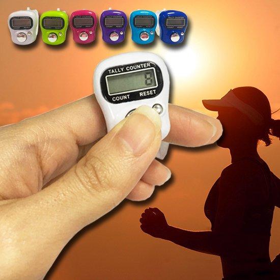 Color_me【G082】迷你 電子計數器 比賽計數器 計數器 LED面板 念佛 記數器 戒指 指環 人數統計 跑步