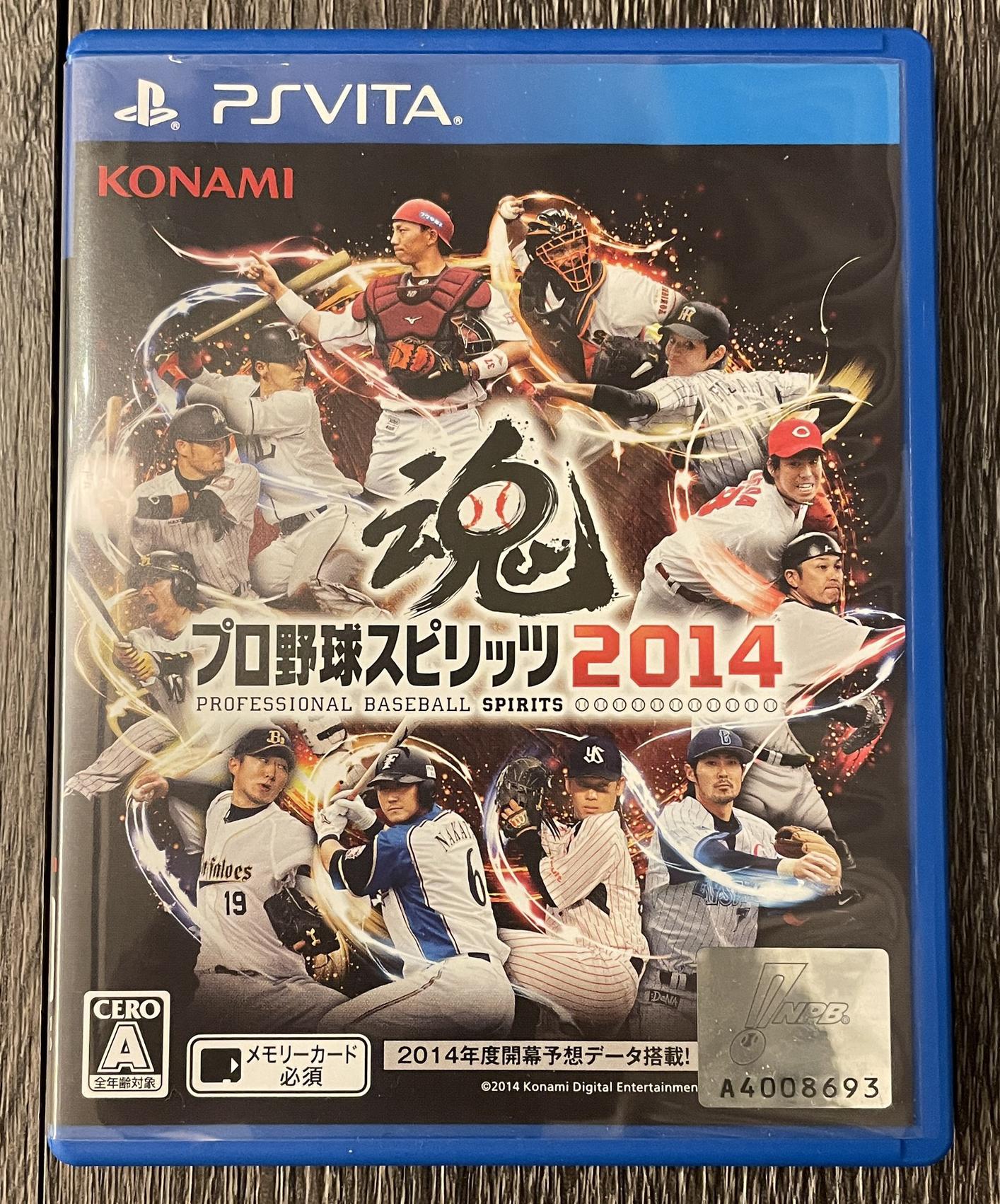 [二手] 野球魂2014 PSV 日本職棒 遊戲片 NPB